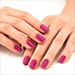 Lakmé 9 to 5 Primer + Gloss Nail Colour, Pink Pace, 6 ml