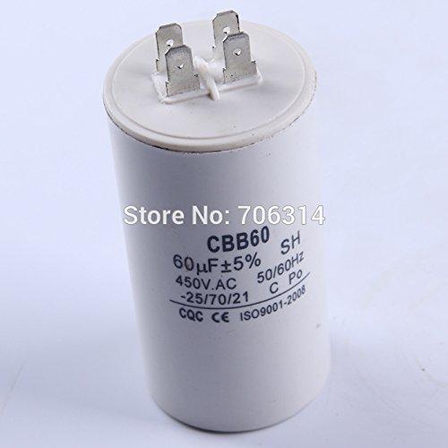 Boyd Gresham Running Capacitor 4 Pins CBB60 250V/450V 60uF Pump Motor Four Pins Start Capacitor For Electric Machine