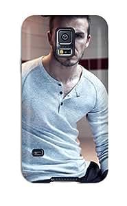 High Grade Audunson Flexible Tpu Case For Galaxy S5 - David Beckham Soccer