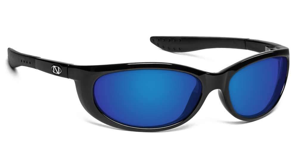 ONOS Petit Boy Polarized Sunglasses (+1.5 Add Power), Black, Blue/Grey