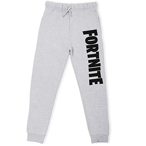 Fortnite Tracksuit Boys | Tracksuit Bottoms for Boys, Teenagers | Grey Or Black Jogging Bottom with Elastic Waist and Pockets | Sports Or Loungewear Trousers, Gift for Boys