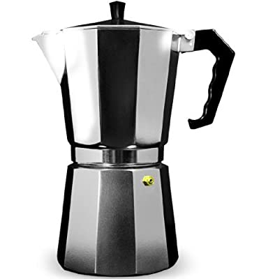 Grunwerg Cafe Ole Italian Style 3 Cup/120ml Espresso Maker from Grunwerg UK
