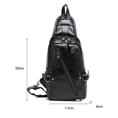 Men's Pack Chest Qidi Bags Youth Shoulder Bag Polyester Crossbody Fashion wOqd0q