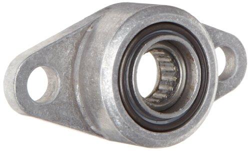 Spyraflo HF2-6M-N Self-Aligning, Needle-Roller Bearing With Aluminum 2-Bolt Hole, 6 mm Inner-Diameter - Flange Inner Housing Diameter