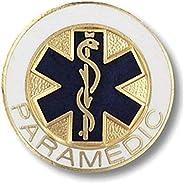 Prestige Medical Emblem Pin, Paramedic (Star of Life Design)