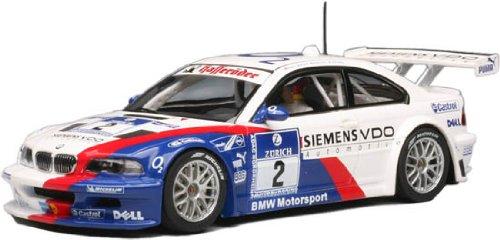 1/32 AUTOart Slot Cars - BMW M3 GTR 24 HRS Nurburgring 2005 - No. 2 - Gtr Bmw M3