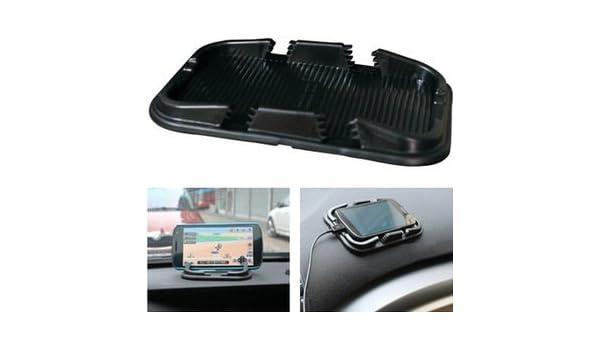 Anti Rutsch Matte Pad Halterung Handy Navi Smartphone für Auto KFZ LKW flach
