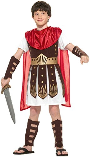 Forum Novelties Roman Warrior Costume, Medium - Kids Roman Soldier Costumes