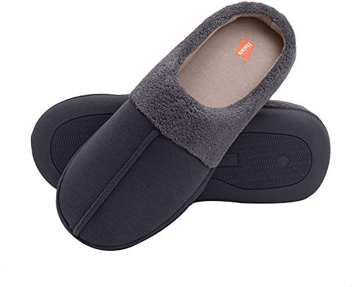 Hanes Slipper Clog with Memory Foam Indoor/Outdoor Sole- Men's & Boy's