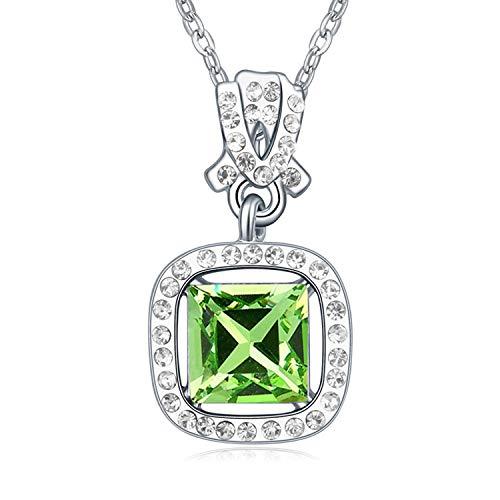 MYYQ Using Elemental Crystal Necklace-Twilight Fashion ol Geometric Pendant (Twilight Gold Pendant)