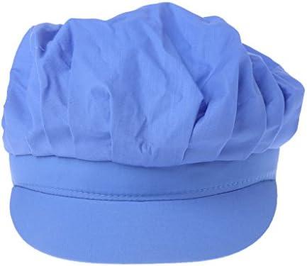 ワークキャップ,Dabixx 赤ちゃんのアンチスクラッチフェイスハンドガード保護ソフト生まれミトンスリーブ - 青い