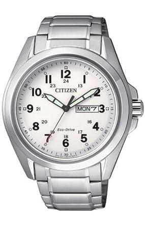 490d591a7b1 Citizen AW0050 58 A Eco Drive - Reloj para Hombre  Amazon.es  Relojes