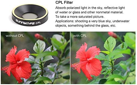 Color: ND4 ND8 ND16 Hockus Accessories Parrot Lens Filter ND dimming Mirror CPL Polarization Polarizer for Parrot ANAFI Drone Accessories