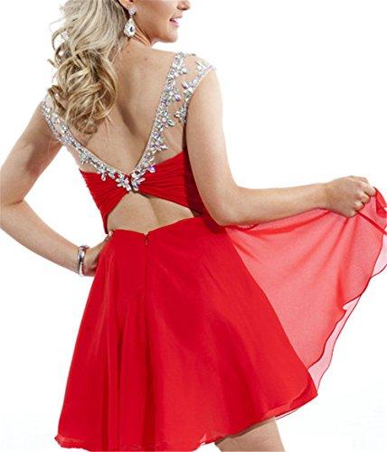 CoutureBridal - Vestido - Noche - para mujer Rojo