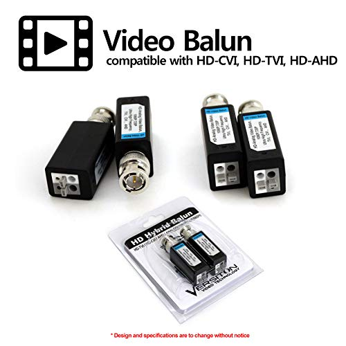 HDVD 32 Pairs Mini CCTV BNC Video Balun Transceiver Cable Push Button Terminal (32 Pairs) by HDVD (Image #2)