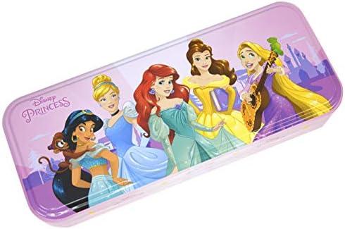 Disney Princess Triple Layer Beauty Tin - Neceser Princesa, Set de Maquillaje para Niñas - Maquillaje Princesas - Selección de Productos Seguros en un Estuche con 3 Pisos: Amazon.es: Belleza