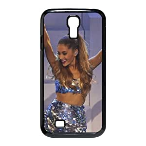 WJHSSB Customized Ariana Grande Pattern Protective Case Cover Skin for Samsung Galaxy S4 I9500