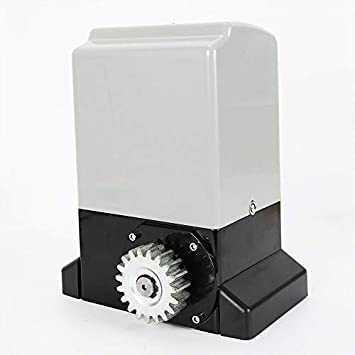 HaroldDol - Sistema de accionamiento para puertas correderas (550 W, eléctrico, 1200 kg, con 2 mandos a distancia y 6 dientes): Amazon.es: Bricolaje y herramientas