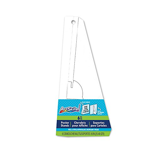 Poster Board Stand (ArtSkills Poster Board Stands, White, 6-Count (PA-1460))