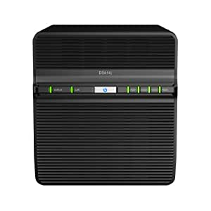 Synology Disk Station 4-Bay Network Attached Storage (DS414j)