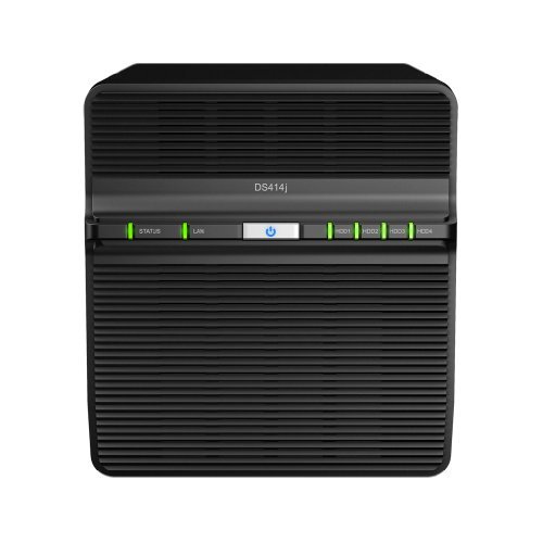 SYNOLOGY DS414j 4-Bay NAS-Gehaeuse 1,2GHz CPU 512M