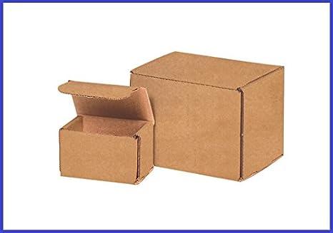 Amazon.com: boxyeah (50 Unidades), color Kraft café ...