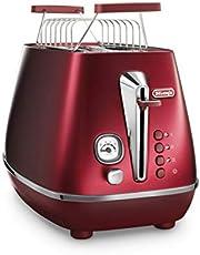 Distinta Flair Toaster, Glamour Red, 2-Slice