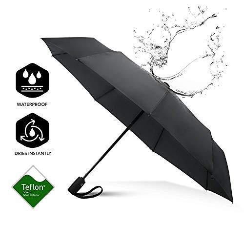 ارخص مكان يبيع Repel Windproof Travel Umbrella with Teflon Coating
