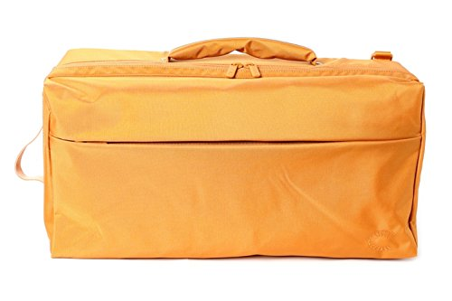 Curtis Bags Insulation Trumpet Double Bags One Size Gold_Black Leather Trim by Curtis Bags