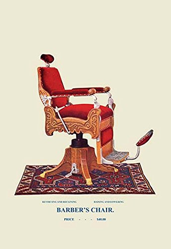 Buyenlarge-0-587-04538-8-P1827-Barbers-Chair-78-Paper-Poster-18-x-27