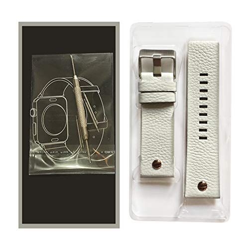 Choco&Man US Genuine Leather Watch Band Strap with Tool Fit for Men's Diesel Watches by Choco&Man US (Image #7)