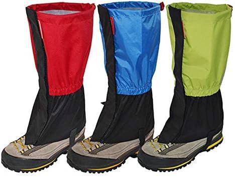 自転車靴カバー 3色が快適に着用レインカバー乗っ防水靴ハイキングシューズ 防水レインブーツ (Color : Red)