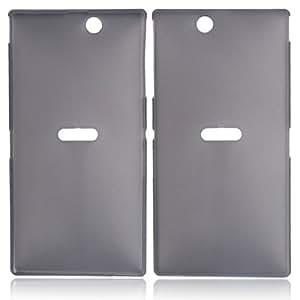 Ultra-thin Plastic shield Case for Sony XL 39H Black