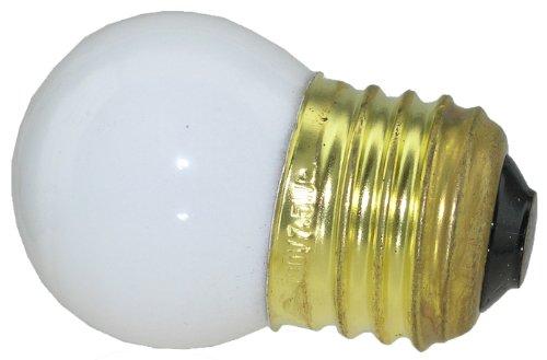 (Novelty Light, 7.5-S11 Commerical Grade S11 Ceramic Replacement Bulbs, E26 Medium Base, 7 Watt, 25 Pack (White))