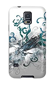 Top Quality Case Cover For Galaxy S5 Case With Nice Artistic Abstract Appearance