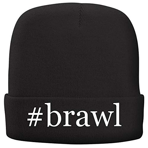 Backyard Baseball Gamecube - BH Cool Designs #Brawl - Adult Hashtag Comfortable Fleece Lined Beanie, Black