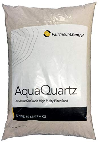 (GIGA-MARKET) AquaQuartz Commercial Residential Swimming Pool Filter Sand #20 Grade-50 lb Bag by (GIGA-MARKET)