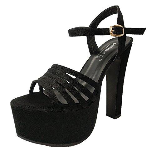 mit Sandalen High Damen rutschfesten Xing Starke Lin T Heel dicken Sandalen Wassertisch Ultra zBanxAq1w