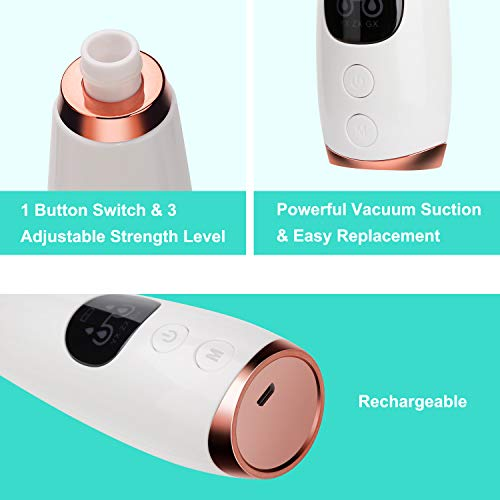 Blackhead Remover Vacuum Facial Pore Cleaner Electronic