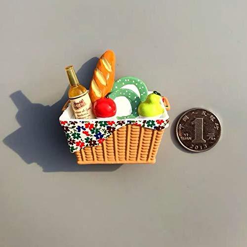 Ixora Fridge Magnet Fruits Basket