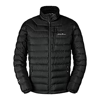 Eddie Bauer Men's Downlight StormDown Jacket, Black Regular S