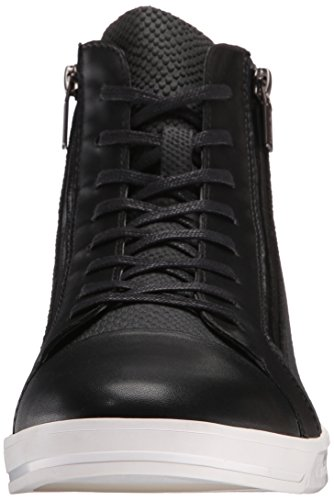 Calvin Klein Men S Berke Emboss Leather Fashion Sneaker Black