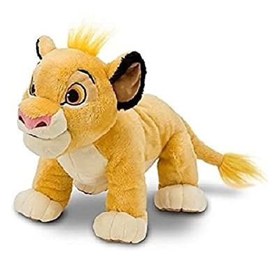 Hard to Find Disney Lion King Adorable Baby Cub Simba 13 Inch Plush Doll Standing On All Fours - Super Cuddly and Soft - New with Tags: Toys & Games