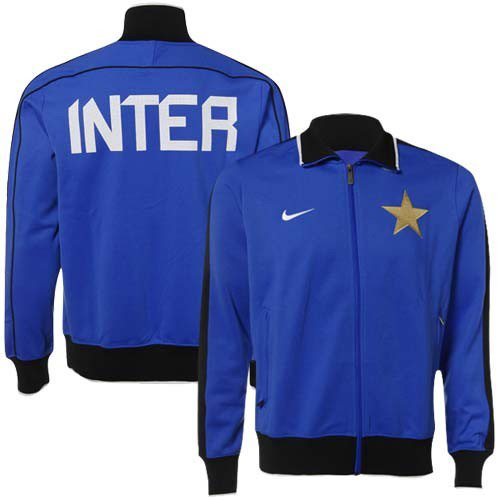 NIKE Soccer Inter Milan Royal Blue Track Jacket (X-Large)