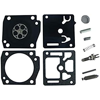 Hipa RB-119 Carb Repair Kits Gasket for ZAMA C1Q-DM13 C1Q-DM14 Carburetor Dolmar