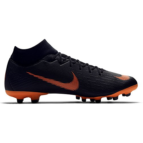 Academy Uomo Scarpe Superfly white VI Orange Total Mercurial da Nike MG Calcio Black CqFt4Wxw