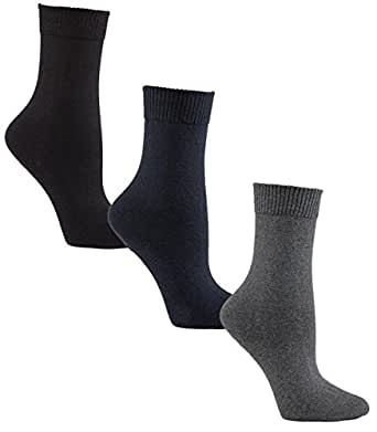 Amazon.com: Womens Diabetic Socks | Seamless Toe + Non