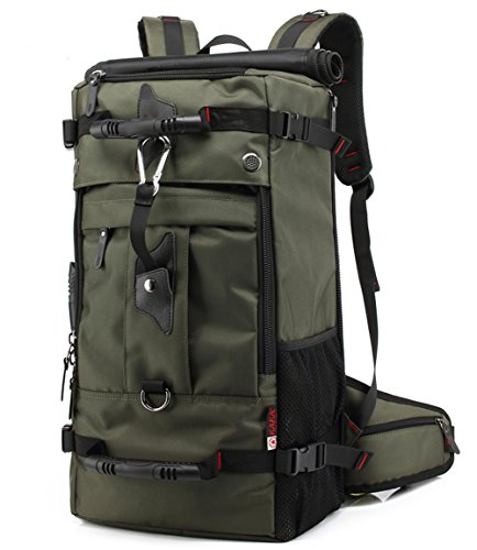 zowaysoon Waterproof Large Sports Shoulders Bag Oversize Military Outdoor Travel Backpack for Hiking Climbing