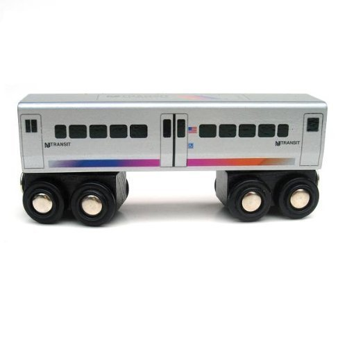 Wooden Toy Train Plans (NJ Transit Comet Passenger Car by Munipals)
