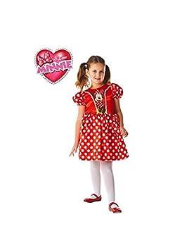 DISBACANAL Disfraz Minnie Mouse Disney - -, 5-6 años: Amazon.es ...